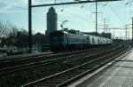 Northbound Amtrak Passenger Train with GE E60 No. 955 providing power