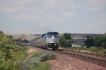 Amtrak's Eastbound Train No. 8, the &quot;Empire Builder&quot; with GE B32-8WH No. 503 in the lead