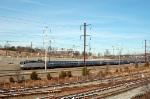 Amtrak (AMTK) Northeast Service Passenger Train led by EMD AEM7 No. 926