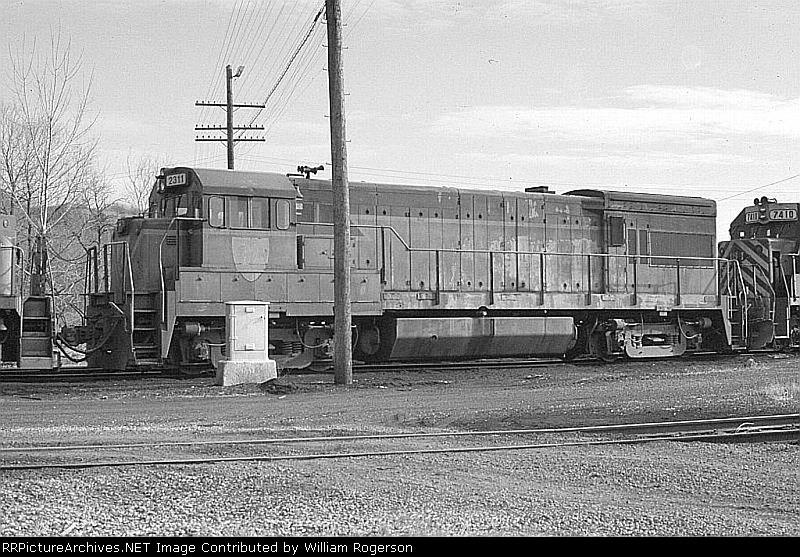 Delaware & Hudson Railway GE U23B No. 2311