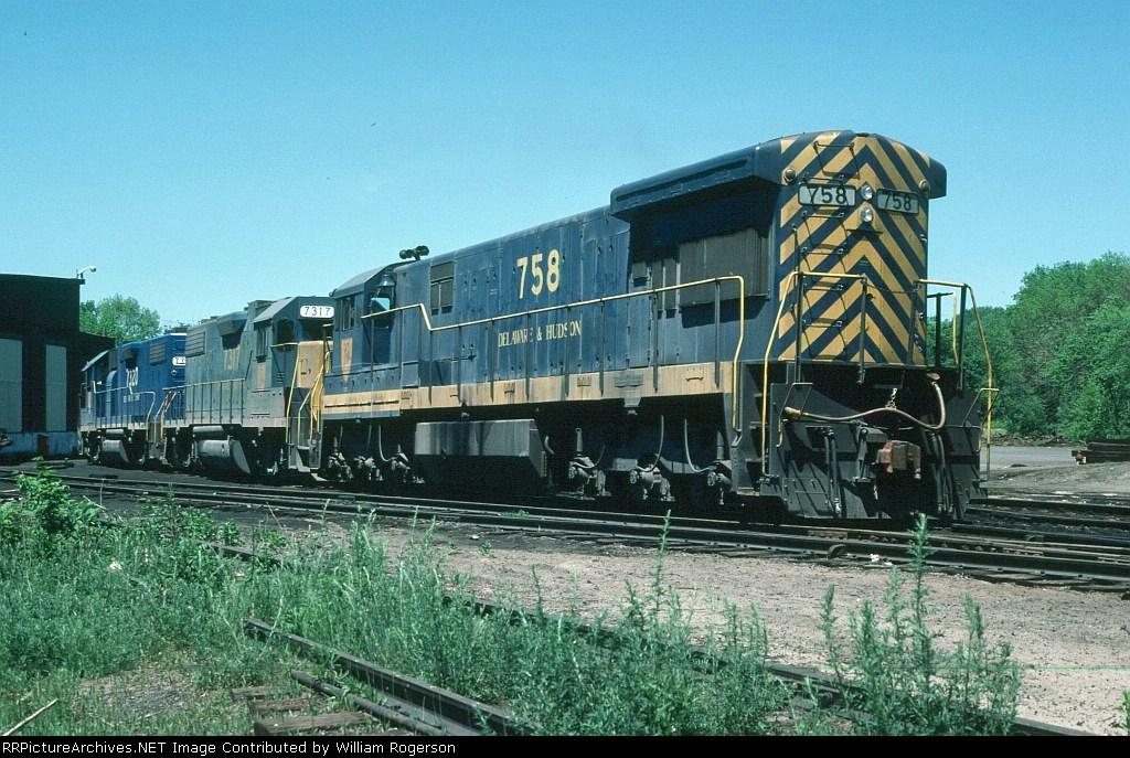 Delaware & Hudson Railway (DH) Diesel Locomotives