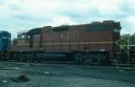 Delaware and Hudson Railway (Ex Lehigh Valley Railroad) EMD GP38-2 No. 7324