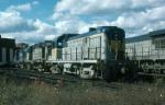 Delaware and Hudson Railway Alco/MK TE56-4A (RS3M) No. 504, Alco RS36 No. 5021 and Alco RS11 No. 5007