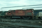 Delaware and Hudson Railway (Ex Lehigh Valley Railroad) Alco C420 No. 409