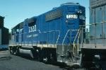 Delaware & Hudson Railway (DH) EMD Gp38-2 No. 7320