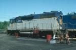 Delaware & Hudson Railway (DH) EMD GP39-2 No. 7610