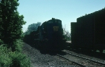Delaware & Hudson Railway (DH) Freight Train Meet