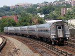 Amtrak's Ethan Allen Express on Metro-North Tracks