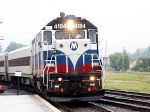 Metro-North #4184 on Ex-Erie Tracks