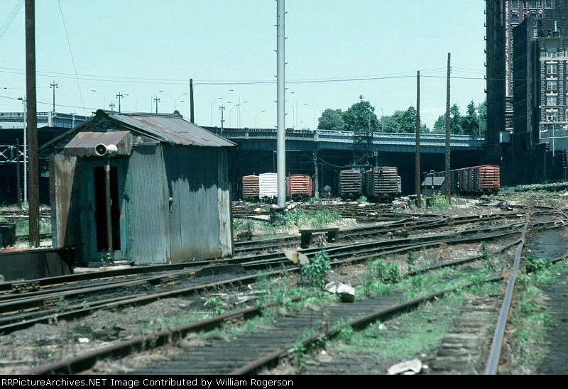 View of Conrail's 60th Street West Side Yard