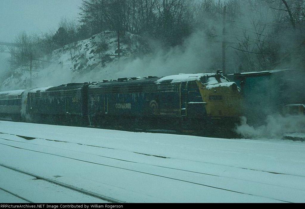 Conrail EMD FL9 No. 5018 and No. 5042