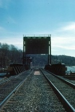 "Signal Tower and Bridge over Wappingers Creek on Conrail's ""Hudson Division"""