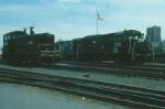 Conrail EMD SW9 No. 8997 and GE U25B No. 2633