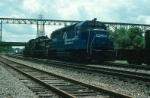 "Three Conrail Diesel Locomotives Deadheading southbound on the ""Hudson Division"""
