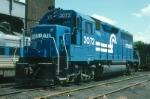 Conrail EMD GP40 No. 3072