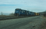 "Southbound Conrail (CR) Mixed Freight Train, ""SELI"""
