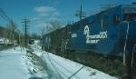Northbound Conrail (CR) Mixed Freight Train