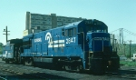 Conrail (CR) GE U30B No. 2847 and N-5B Caboose No. 20069