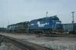 Conrail (CR) EMD GP40 No. 3200, SD40 No. 6242 and SD40-2 No. 6466