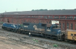 Conrail (CR) MT6 Yard Slug and EMD SD38 No. 6958
