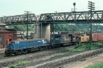 Conrail (CR) MT6 Yard Slug No. 1120 and EMD SD38 No. 6958