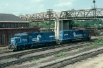Conrail (CR) EMD GP40 No. 3229 and SD40-2 No. 6500