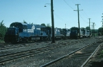 Conrail (CR) and Boston and Maine Railroad (BM) Diesel Locomotives