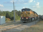 UP 7510 on a Northbound Aggregate