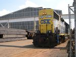 CSX 2673 Crossing New Market Road/Coming Out Of The Harris Steel Complex