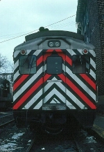 Metropolitan Transit Authority (New York) Budd Rail Diesel Car