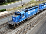 A closer look at NS 3375 ( Ex-Conrail 6437) from overhead