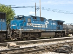 NS 8204 (EX-Conrail 6007) rounds out the consist