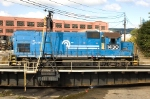 NS #1430 (Ex-Conrail 1661) takes a spin on the turntable