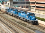 Two Ex-Conrail units gives a shove (a closer look)