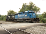 NS 3380 (Ex-Conrail 6446) on the move