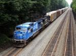 NS 8443 ( Ex-Conrail 6271) leads this Eastbound Train
