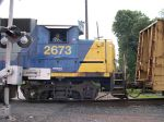 The Side Of CSX 2673