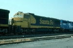 Atchison, Topeka and Santa Fe Railway GE U30CG No. 8002