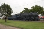 Atchison, Topeka and Santa Fe Railway (ATSF) 4-6-2 Steam Locomotive No. 3416