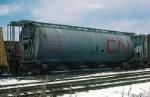 Canadian National Railways (CN) Covered Hopper No. 369054