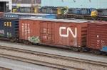 Canadian National Railway (CN) Box Car No. 414327