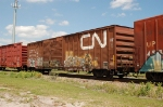 Canadian Nation Railway (CNA) Box Car No. 799635