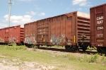 Canadian National Railway, Grand Trunk Western (GTW) Box Car No. 406370