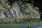 Eastbound Canadian National Railway (CN) Container Train