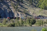 Eastbound Canadian National Railway (CN) Mixed Freight Train
