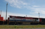 Canadian National Railway (BCOL) Ex BC Rail, Ltd. GE C40-8W No. 4624