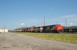 Eastbound Canadian National Railway (CN) Empty Coal Train