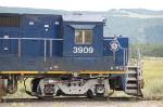 Canadian National Railways (BCOL) Ex BC Rail, Ltd. GE B39-8E No. 3909