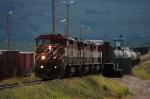 Canadian National Railways Local Freight Train powered by Ex BC Rail, Ltd. GE C40-8M's No. 4622, No. 4605 and No. 4621