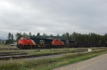 Eastbound Canadian National Railways Freight Train